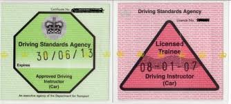 fully qualified driving instructor